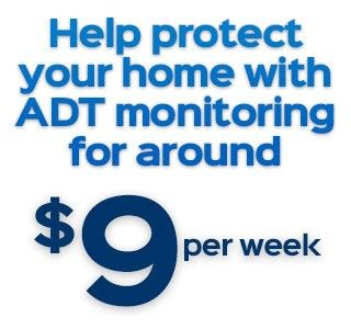 Adt Home Security Wireless Security Alarm Systems