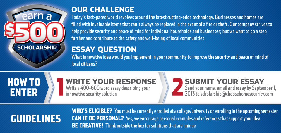 safety scholars essay contest
