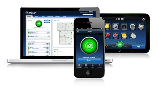 Adt Home Security Systems >> Adt Pulse App Home Security Automation 800 419 3043